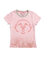 Little Girls Flower Print Tee