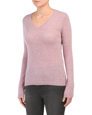 Pullover Cashmere V-neck Sweater