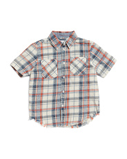 Litte Boys  Connor Washed Shirt