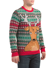 Rudolph Drink Pocket Sweater