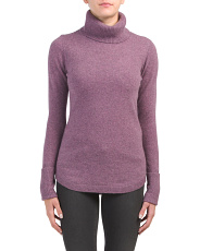 Rounded Hem Cashmere Sweater