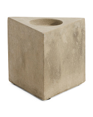 Made In India Cement Candle Holder