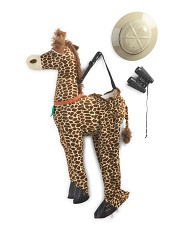 Little Kids Step In Giraffe Safari Costume