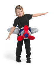 Little Kids Step-in Airplane Pilot Costume