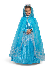 Artic Princess Costume With Cape