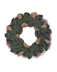 28in Magnolia Leaf Wreath