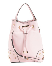 Bucket Bag With Stud Detail