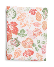 Elegant Leaves Tablecloth