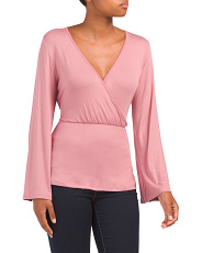 Ballet Faux Wrap Top
