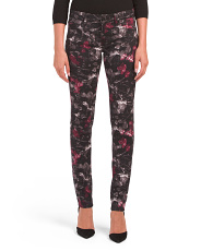 The Shaded Flower Print Jeans