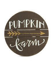 Pumpkin Farm Wall Decor