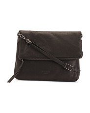 Robbie Flap Foldover Leather Bag