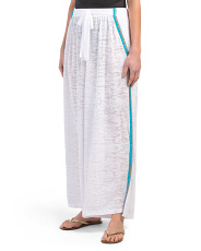 Wrap Around Cover-up Pants