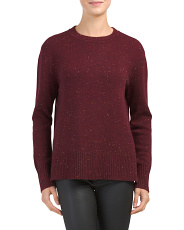 Donegal Cashmere Hi Lo Sweater