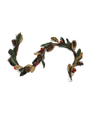 Christmas Leaves Garland