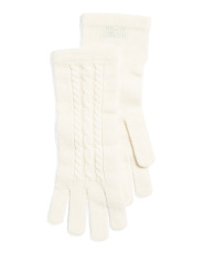 Cable Knit Cashmere Gloves