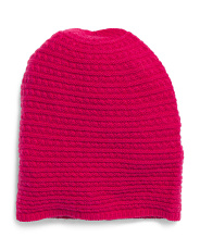 Merino Wool & Cashmere Baby Cable Hat