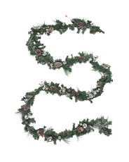 20ft Frosted Pine Garland