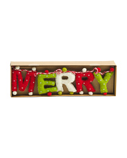 Made In India 6ft Merry Christmas Garland