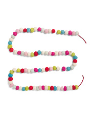 Made In India 6ft Pom Pom Garland