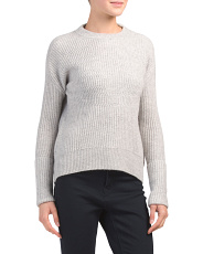 Chunky Ribbed Cashmere Sweater