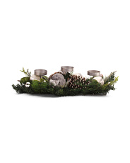Faux Pinecone Centerpiece
