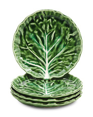 Made In Portugal 4pk Cabbage Appetizer Plates