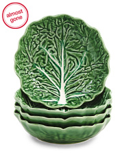 Made In Portugal 4pk Cabbage Salad Bowls