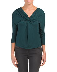 Twist Front Date Night Top