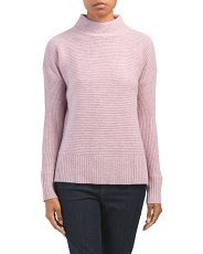 Cashmere Textured Pullover Sweater