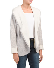 Double Knit Cashmere Blend Cardigan