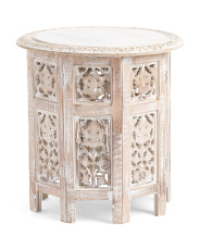 Made In India Carved Table