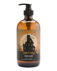 16oz House Of Haunts Pumpkin Patch Hand Soap