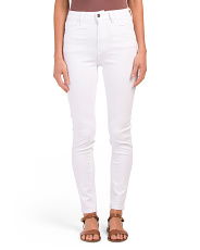 Juniors Super High Rise Skinny Jeans