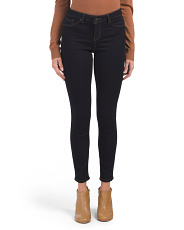 Juniors High Waist Ankle Skinny Jeans