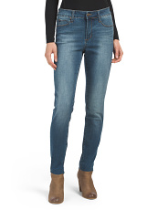 Raw Edge Ankle Skinny Jeans