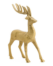 Made In India 13in Textured Reindeer