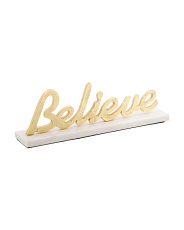 Made In India 6in Believe With Marble Base