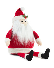 24in Sitting Santa Decor