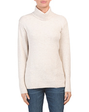 Scrunch Neck Pullover Sweater