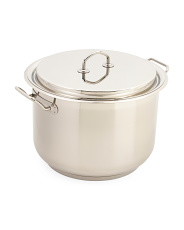 Made In Italy 18.5qt Teknika Stainless Steel Stockpot
