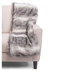 Akron Faux Fur Throw
