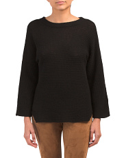 Banko Pointelle Cashmere Sweater