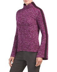 Cashmere Trinculo Mock Neck Sweater
