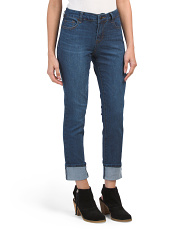 Cuffed Girlfriend Jeans