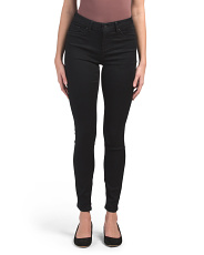 High Waist Lush Skinny Plush Pants