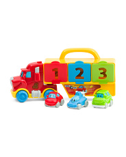 Mr Wheeler 123 Truck Set