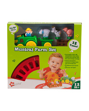 Musical Farm Train Set