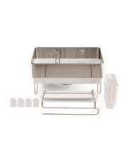 Compact Steel Frame Dish Rack