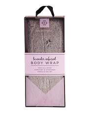 Lavender Infused Faux Fur Body Wrap